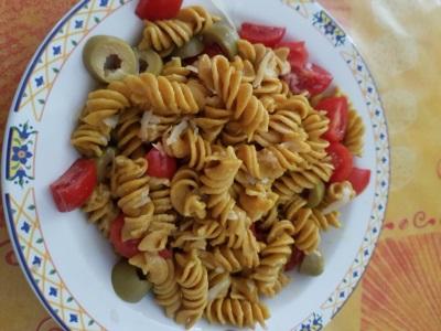 curcuma , pomodorini, olive