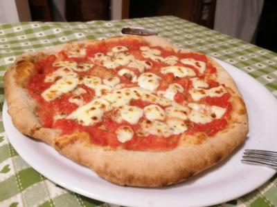 pizza con farina di grano tenero